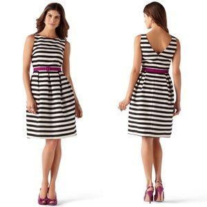 WHBM striped tank dress size 10.               056